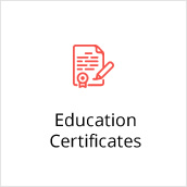 Education Certificates
